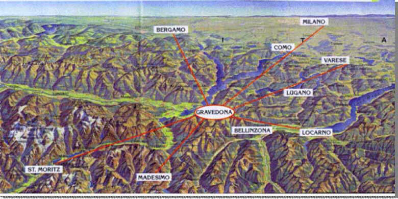 Casarina Landkarte