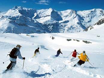 Bild von Skifahren am Comersee und Veltlin