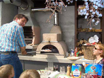 Casarina pizza oven