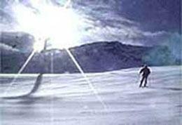 Casarina Alpines Skifahren
